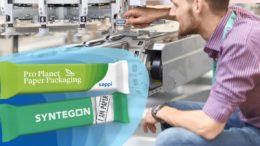 Sappi und Syntegon papierbasierte Verpackungen für Süßwaren