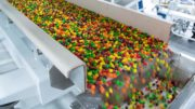 Skittles Produktionslinie in der Mars Wrigley Confectionery Fabrik