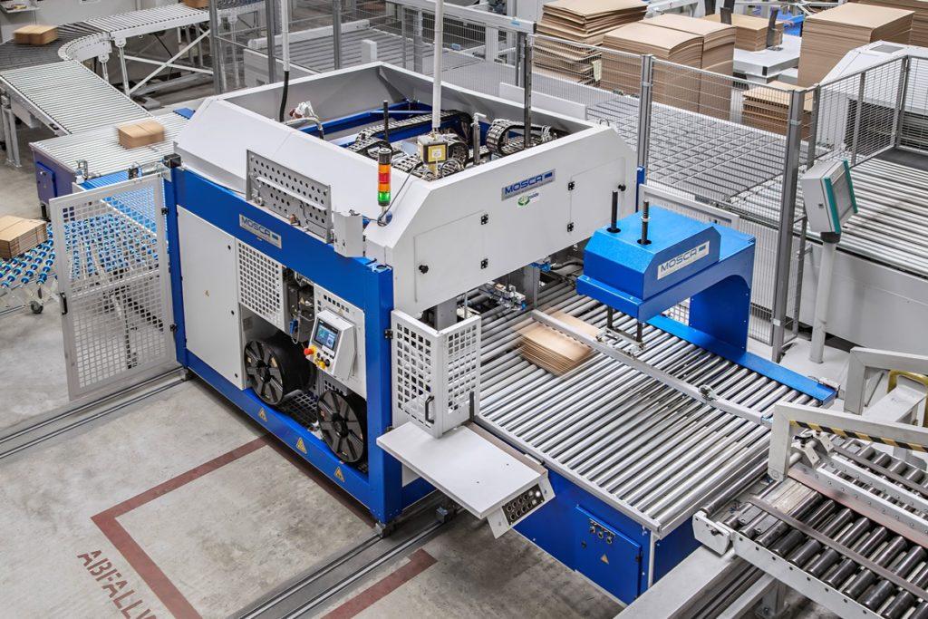 Ausrichter und die patentierte SoniXs-Ultraschallverschweißung garantieren eine hohe Bündelqualität und einen sicheren Bandverschluss.