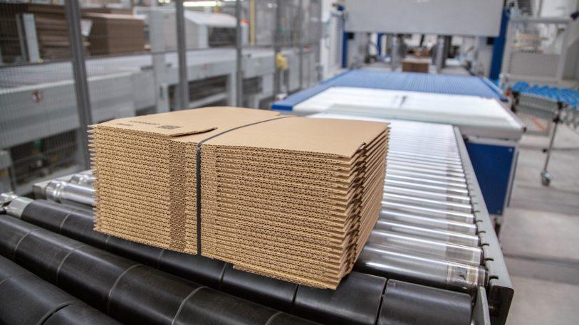 Umreifung mit Ultraschall Die SoniXs UATRI-2 XT sichert Packstücke mit der zuverlässigen Ultraschalltechnologie