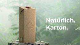"""Nachhaltigste Lebensmittelverpackung. Die """"Natürlich. Karton""""-Kampagne ist Teil der Nachhaltigkeitsstrategie von Tetra Pak."""