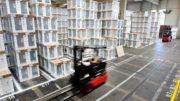 BSH verpackt Geräte in Styropor mit Anteil chemisch recycelte Kunststoffe