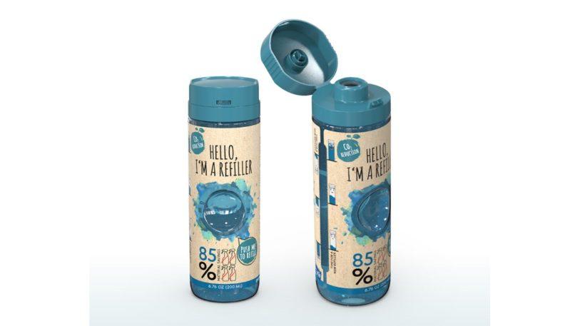 Nachfüllflaschen zur Mehrfachdosierung von Greiner