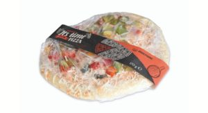 Full Wrap-Etikettierlösung von MULTIVAC für Pizzen