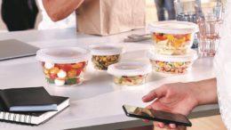 So Urban Glasschalen für Essen to go