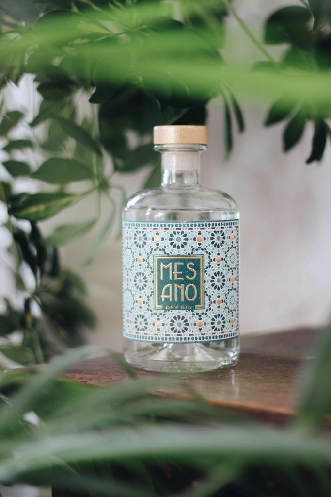 etiket schiller Baumwoll-Etikett für Gin