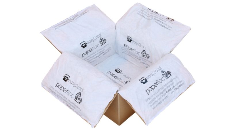 paperfloc Isolierverpackung
