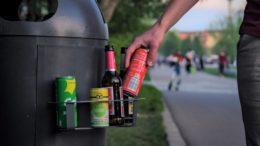 Littering Getränkedosen gering