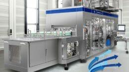Die Upgrade-Version der Füllmaschine CFA 724 ermöglicht es, zwei Kartonpackungsformate mit identischem Bodenmaß aseptisch zu befüllen.