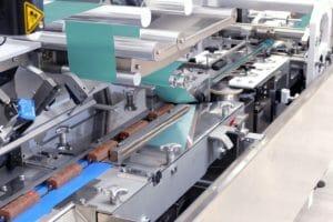 Heißsiegeln von papierbasierten Schlauchbeuteln: Theegarten-Pactec hat seine FPC5-Verpackungsmaschine für Riegel- und Tafelprodukte in Schlauchbeutel weiterentwickelt.