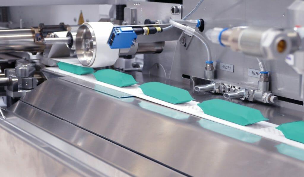 Auf der FPC5 wird eine Leistung von bis zu 90 m/min erreicht.