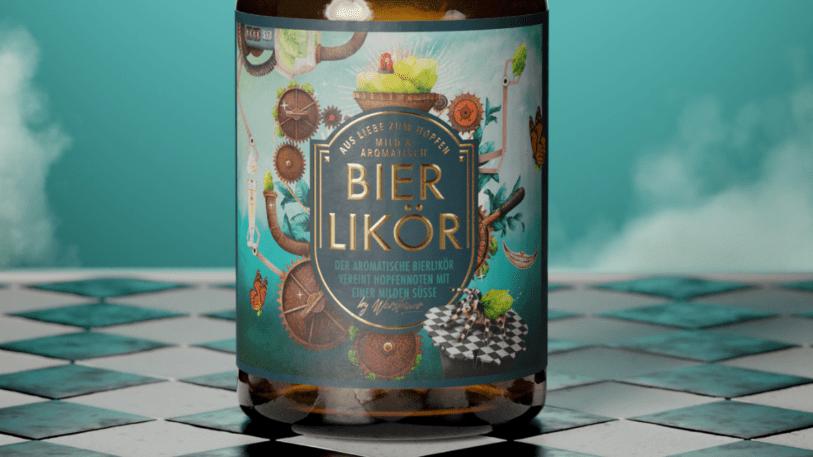 Warsteiner Bierlikör Win Desgn
