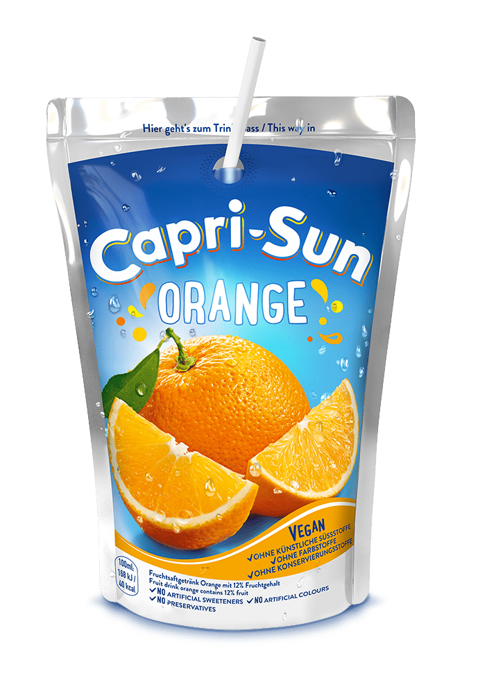 Capri Sun Papiertrinkhalm