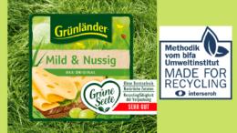 Recyclingfähigkeit von Käseverpackung