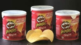 Die Vollkartondose wird für Snacks und Co. entwickelt.