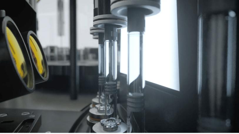 Syntegon Spritzeninspektion mit KI