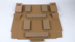 Knüppel elastische Papp-Polster
