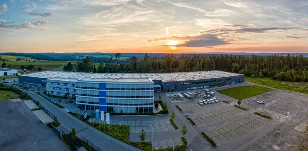 Der Unternehmenssitz in der Dieselstraße in Pfalzgrafenweiler.