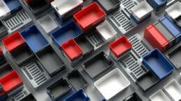 Die WERIT Euronorm Stapelkästen sind in zahlreichen Größen erhältlich.
