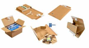 Drei V Versandverpackungen