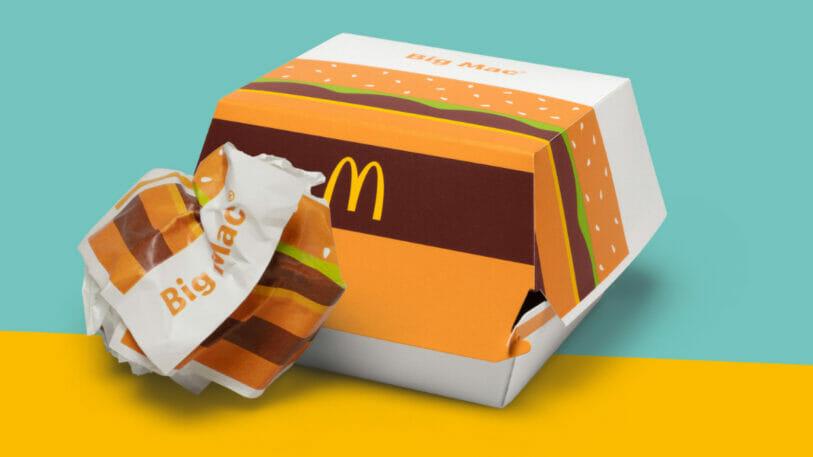 McDonald's Deutschland Verpackungstest