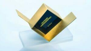 Trophäe Deutscher Verpackungspreis Gold-Award