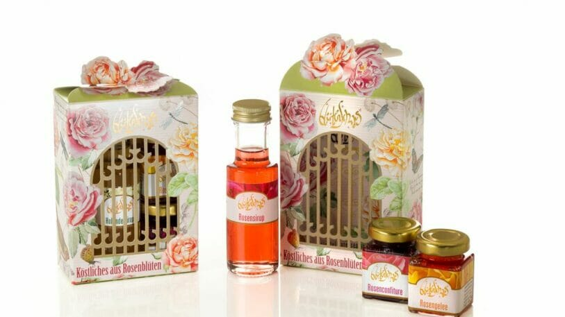 Rose Gift Box - AR Packaging Swiss