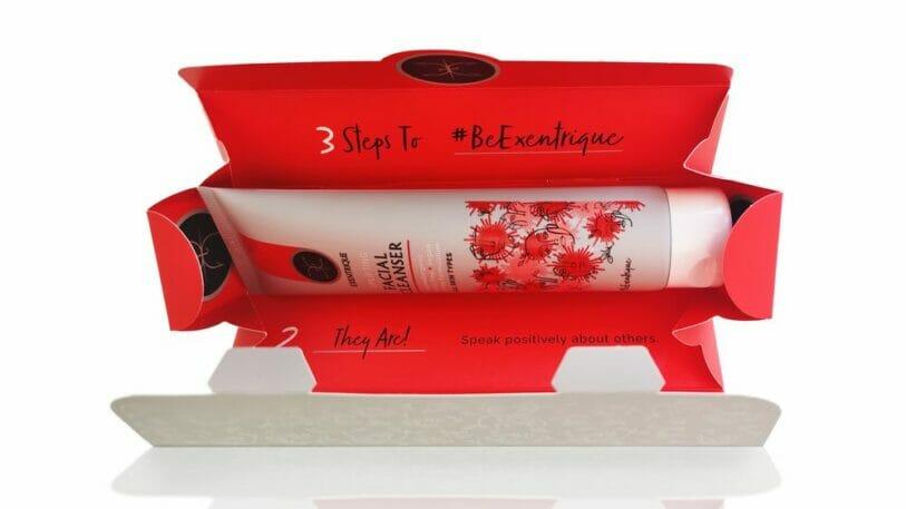 Exentrique Facial Cleanser - Essentra Packaging mit Holmen Iggesund