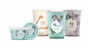 Greiner Packaging präsentiert auf der Fachpack Recycling- und Alternativmaterialien sowie Lösungen mit digitalen Wasserzeichen und die neue K3-Lösung.