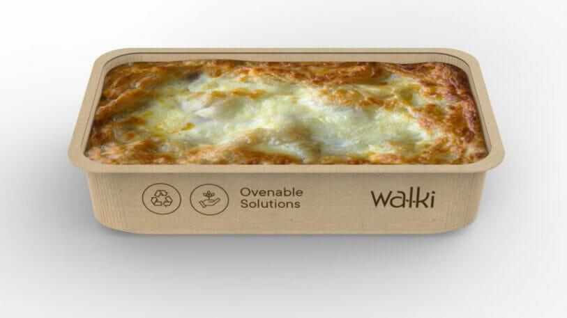 Recycelbare Verpackungen für Fertiggerichte und Tiefkühlkostfür Fertiggerichte und Tiefkühlkost wie Lasagne