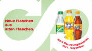 Coca-Cola verkauft ab sofort Getränke seiner Kernmarken in Flaschen aus 100 Prozent recyceltem PET
