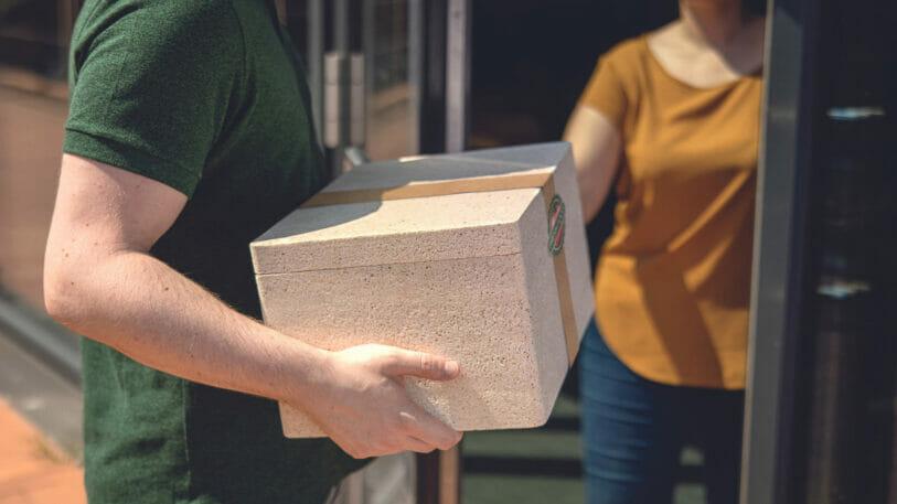 Plant Pack entwickelt Styropor-Alternative aus Maisgrieß für den Versand