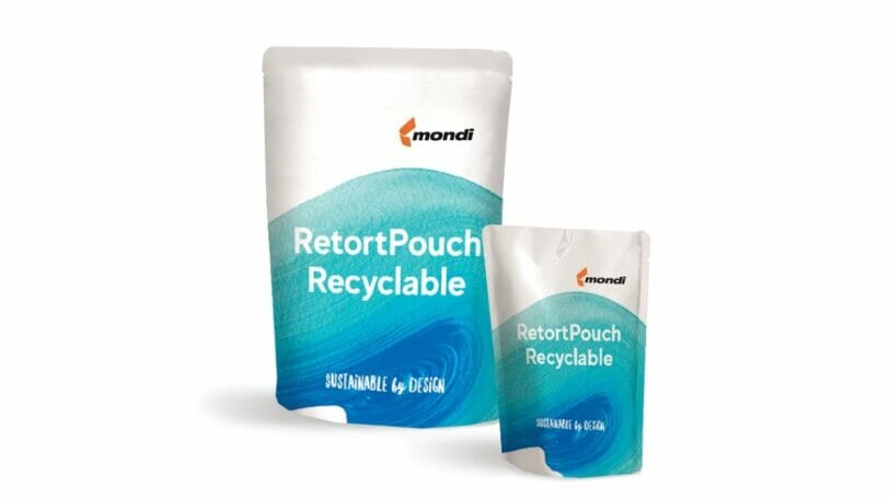 Monomateriallösung RetortPouch Recyclable für sterilisierte Fertiggerichte und Nasstierfutter