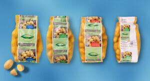 Kartoffelnetze von Norma