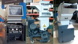 Drei Getecha-Maschinen