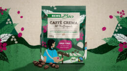 WIN designt Rewe Bio Café Mujer