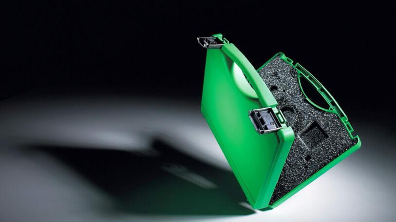 Ein Biopolymer-Koffer von W.AG